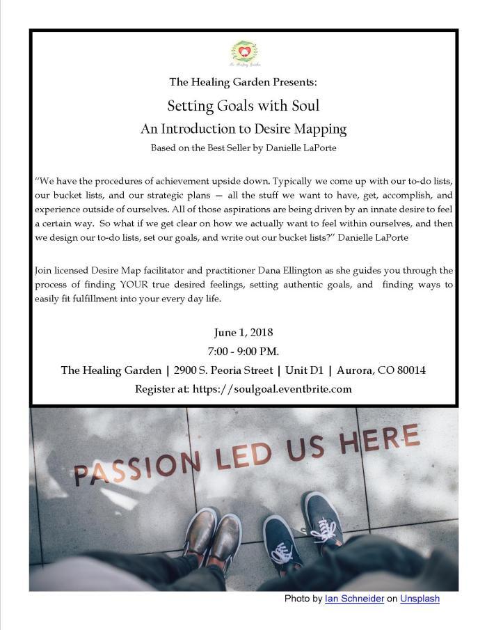 Healing Garden Workshop 060118